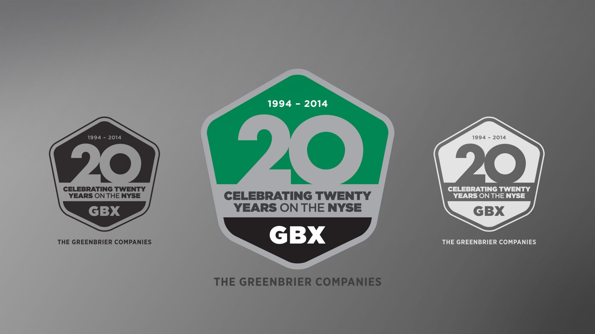 GBX 20th Anniversary Mark